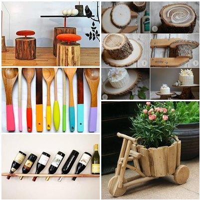 DIY Wood Craft Ideas Android App Screenshot