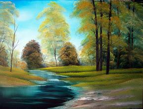 "Photo: 1306 Hidden Creek. Oil on Canvas. Frame: no. Price: 18"" x 24"" $229.00, 16"" x 20"" $199.00"