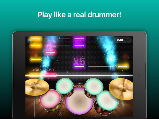 Drums: real drum set music games to play and learn 2.18.01 screenshots 6