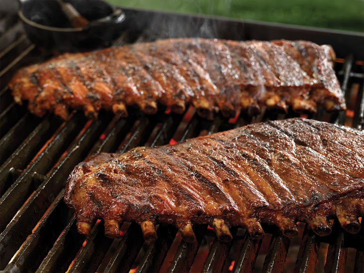 Sweet, Spicy, and Smoky Spareribs