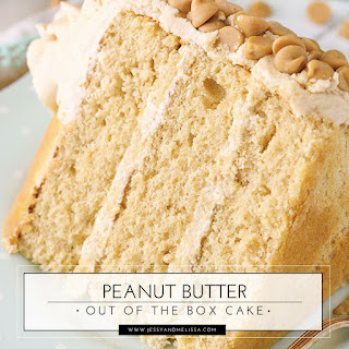 Peanut Butter Out of the Box Cake.