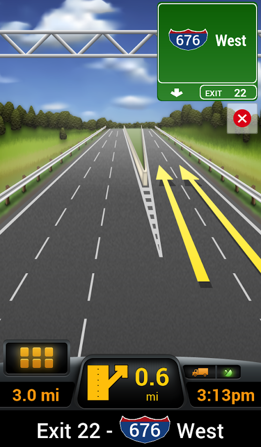 CoPilot Truck USA & CAN - screenshot