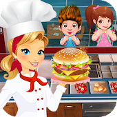 Cooking Burger Chef - Kitchen Game