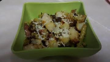 Roasted Romanesco and Red Potatoes