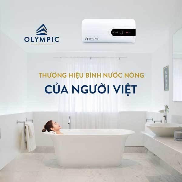 Bình nóng lạnh Olympic sự lựa chọn tuyệt vời cho người Việt