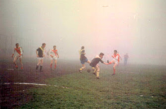 Photo: It's never too foggy for soccer!
