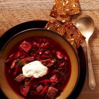 Borscht with Beef