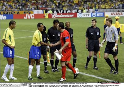 L'arbitre Prendergast ne regrette pas d'avoir annulé le but de Wilmots contre le Brésil en 2002