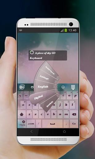 玩個人化App|一片天空 GO Keyboard免費|APP試玩