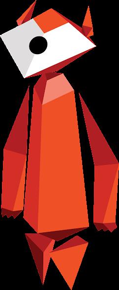Eine Figur von Interland