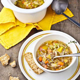 Slow Cookers Autumn Harvest Veggie Soup for 2