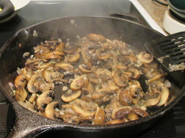 To prepare the sauce: In a medium large skillet, heat the olive oil until shimmering....