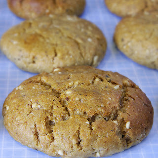 Home-Made Protein Cookies.
