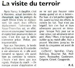 Photo: 10-03-2012 2è manche du derby mosellan à Maizières