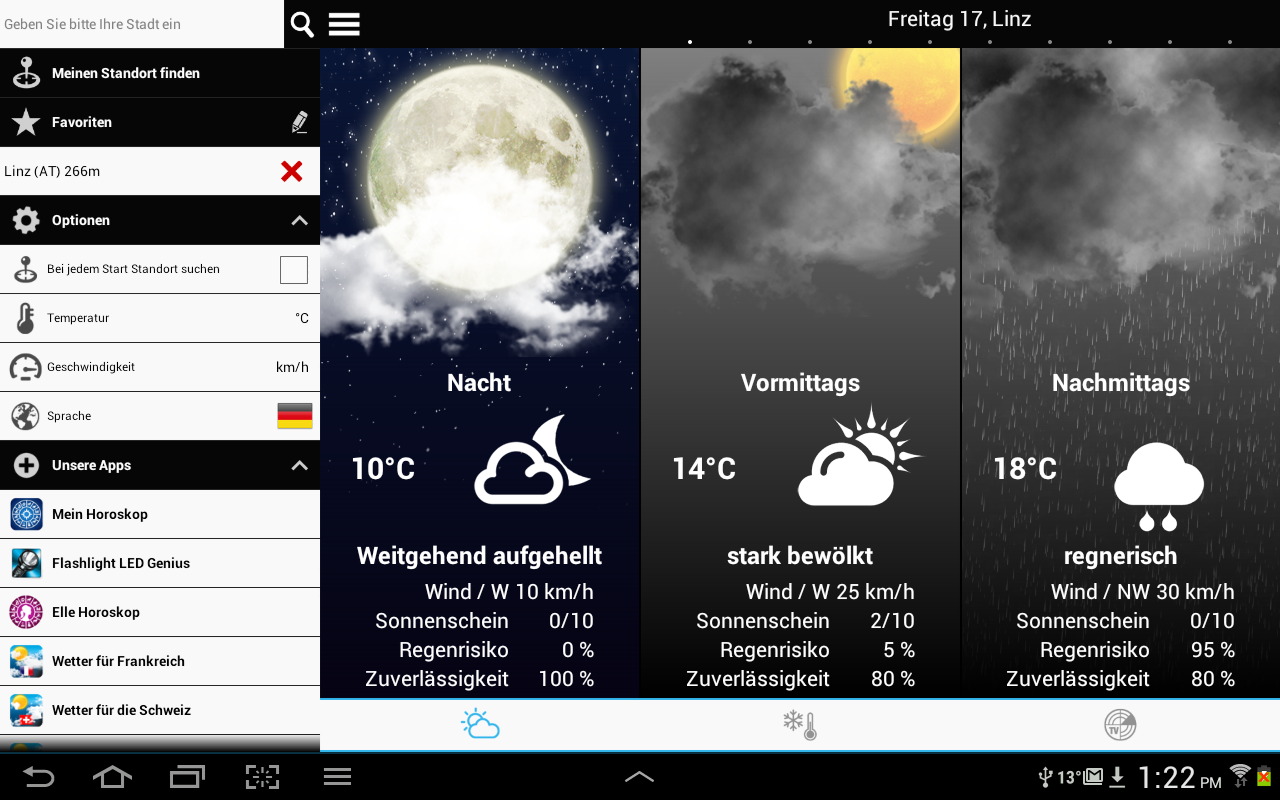 Weather for Austria- screenshot