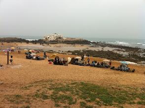 Photo: C'est des bar sur la plage Café et Thé à la menthe
