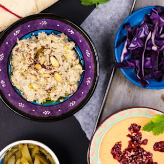 Moutabal – Aubergine And Tahini Salad