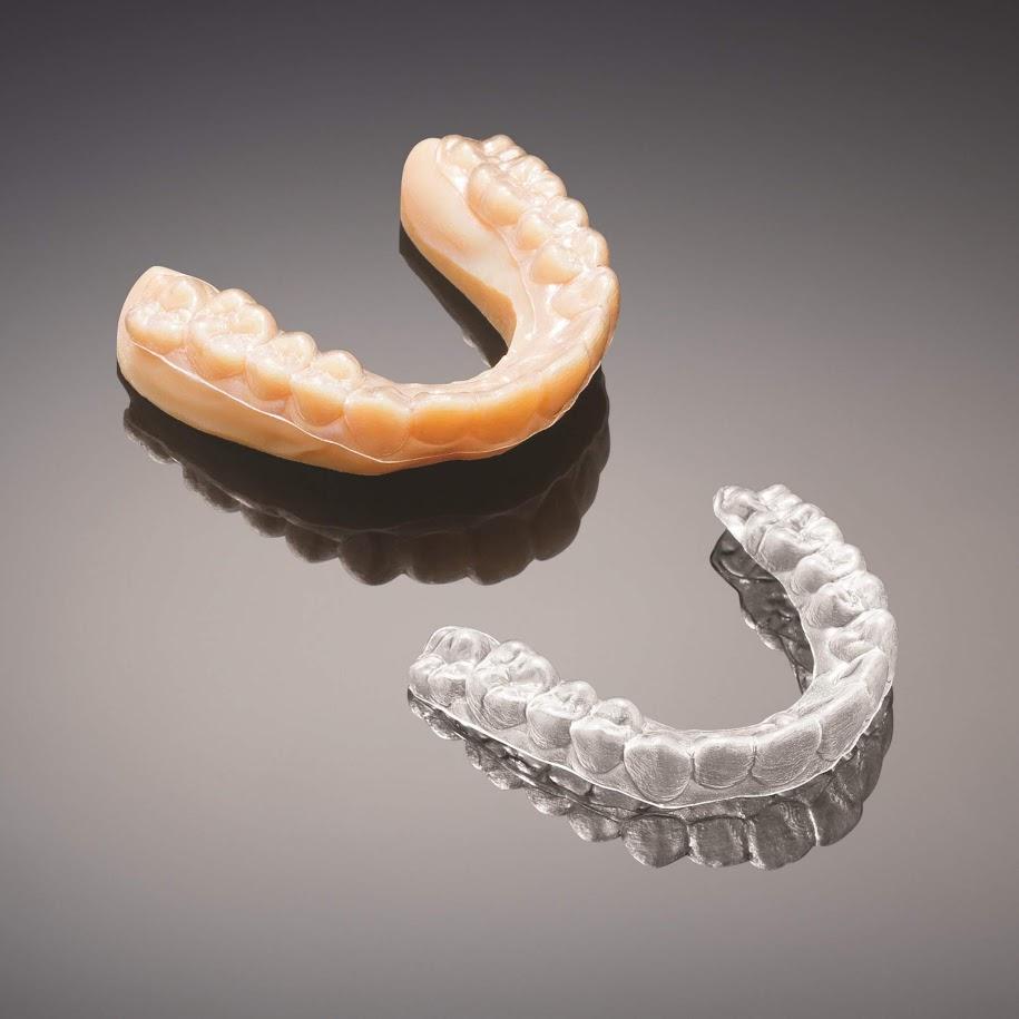 Выравниватель для зубов, напечатанный на 3D принтере