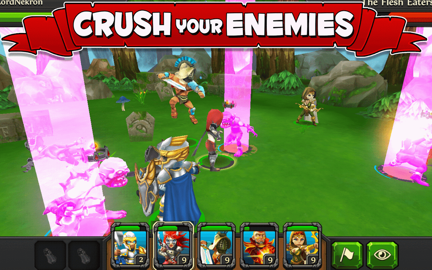 Party of Heroes- screenshot
