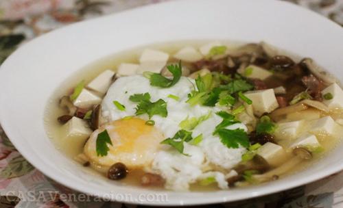 Asian mushroom soup recipe excellent