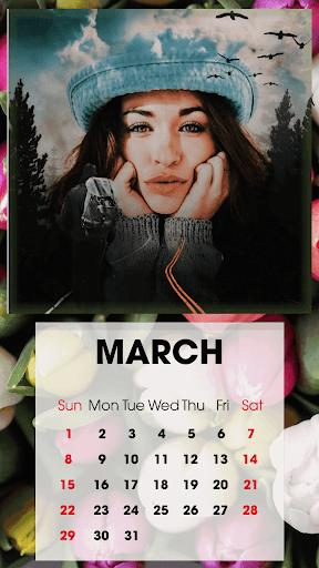 Calendar Photo Frames 2020 screenshot 1