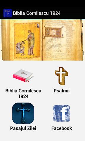 android Biblia Cornilescu 1924 Screenshot 0