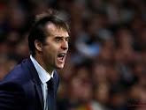 Jordi Alba (FC Barcelone) soutient Julen Lopetegui (Real Madrid)