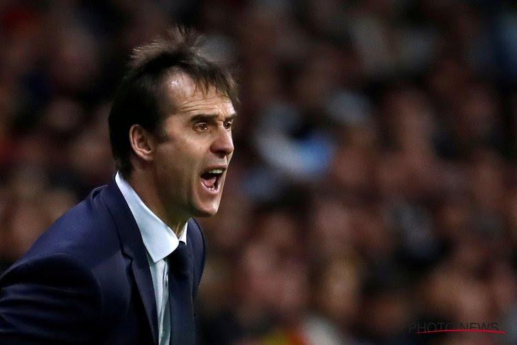 Trainer van Sevilla op het strafbankje en er niet bij tegen Real Madrid