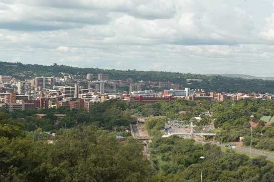 A view of the City of Tshwane, from Freedom Park, the city could be one of the emerging-market cities to attract climate-related investments over the next decade. Picture: SUNDAY TIMES