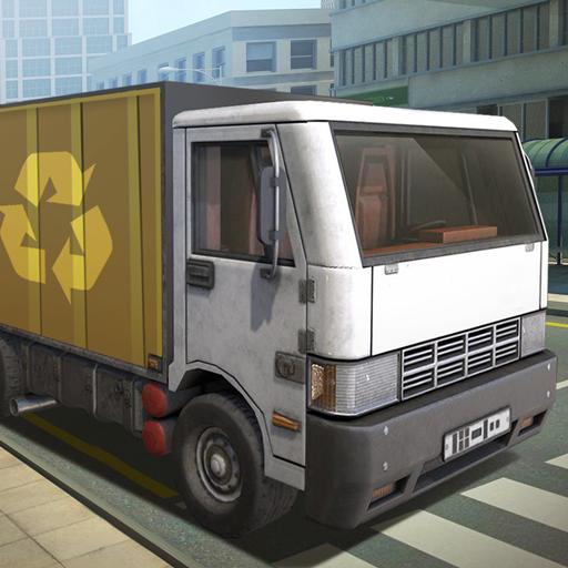 Junior Garbage Truck Parker (game)