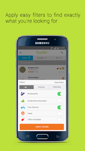 Fuudel – Takeaway Delivery- screenshot thumbnail