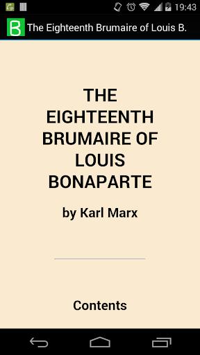 Louis Bonaparte 18th Brumaire