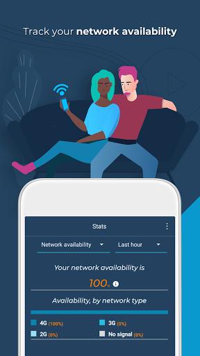 Opensignal - 3G & 4G Signal & WiFi Speed Test screenshot 4