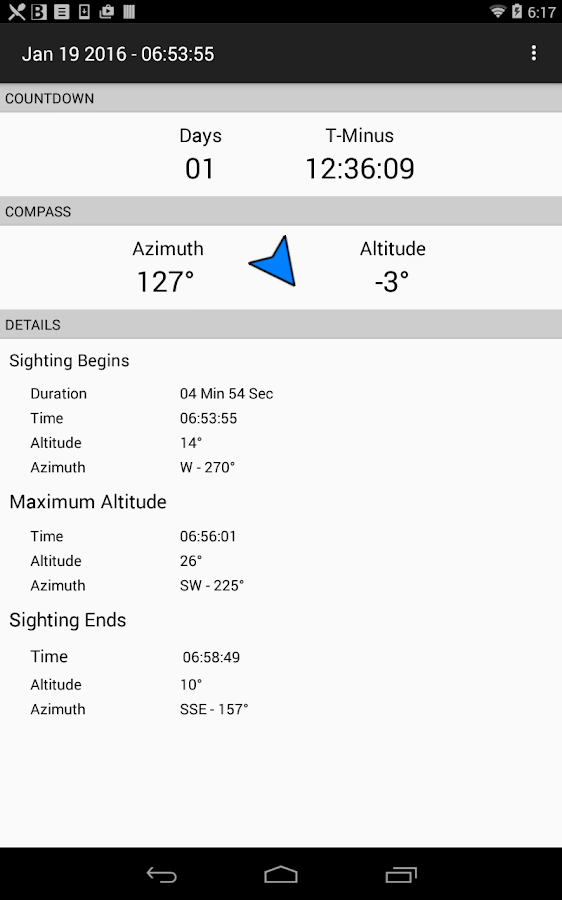 ISS Locator- screenshot