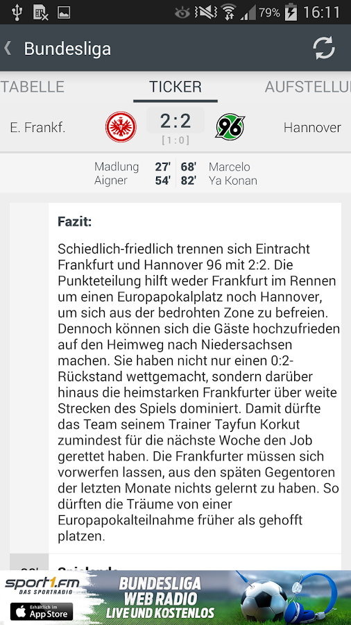 SPORT1 - screenshot