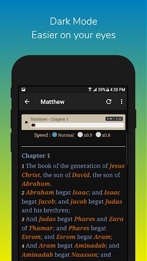 Audio Bible KJV Free Download - King James Version App Report on