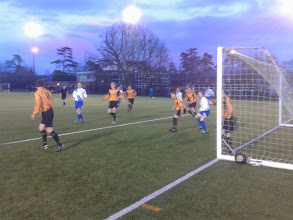 Photo: 15/02/14 v Orpington (Kent Invicta League at Swadelands School 3G, Lenham) 1-0 - contributed by Tony Incenzo