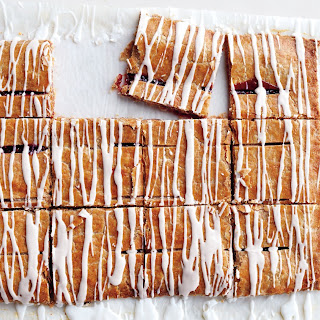 Graham-Flour and Jam Pastry Squares