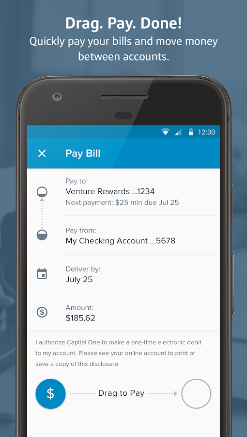 Capital One® Mobile- screenshot