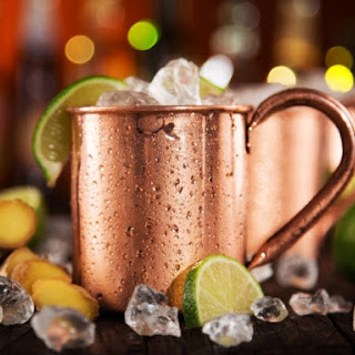 Moscow Mule Cocktail.