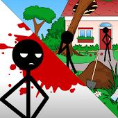 Stickman Kill Gardener
