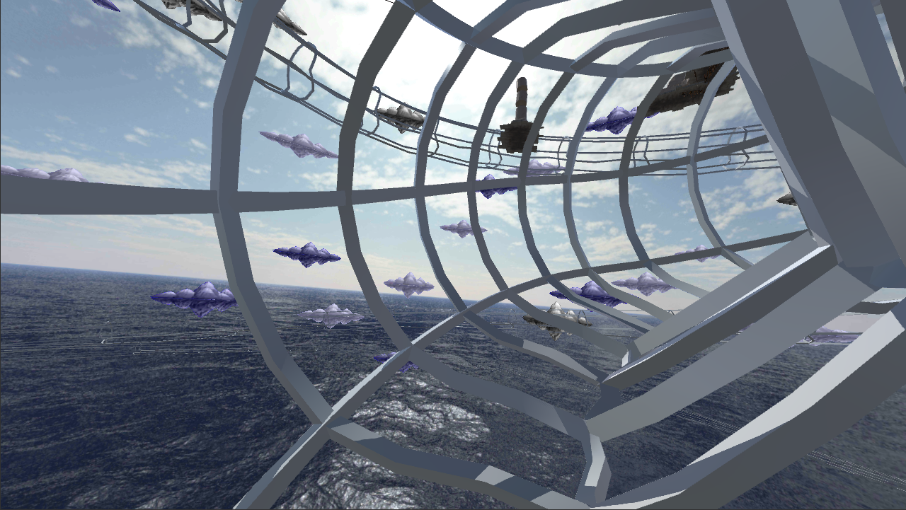 VR Whales Dream of Flying FREE- screenshot
