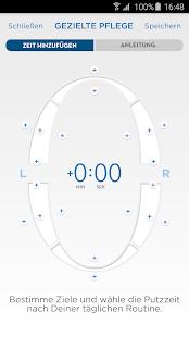 Oral-B App – Miniaturansicht des Screenshots