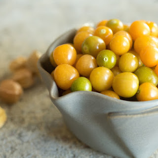 Ground Cherry (Cape Gooseberry) Compote.