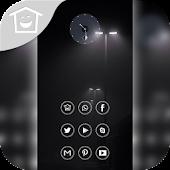 Black strange lights theme ---