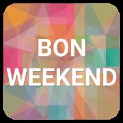 SMS Bon Weekend