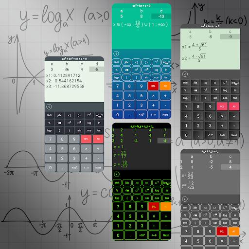 HiEdu Scientific Calculator : He-570 4.1.8 screenshots 5