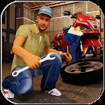 Moto Mechanic Sim: Bike & Quad Icon
