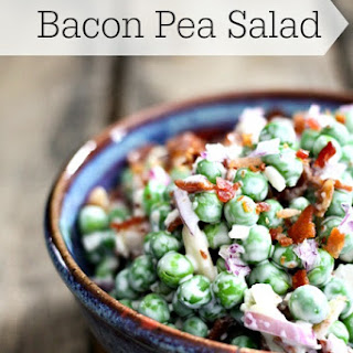 Bacon Pea Salad.