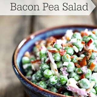 Pea Salad With Bacon And Cheese Recipes.